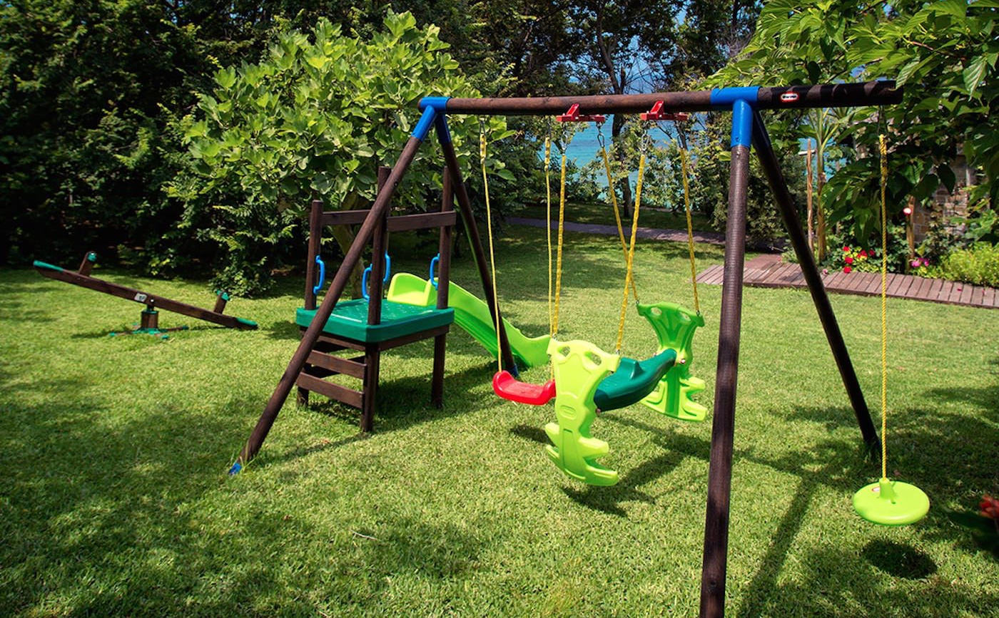Kids Facilities Playground Best Family Hotel Greece