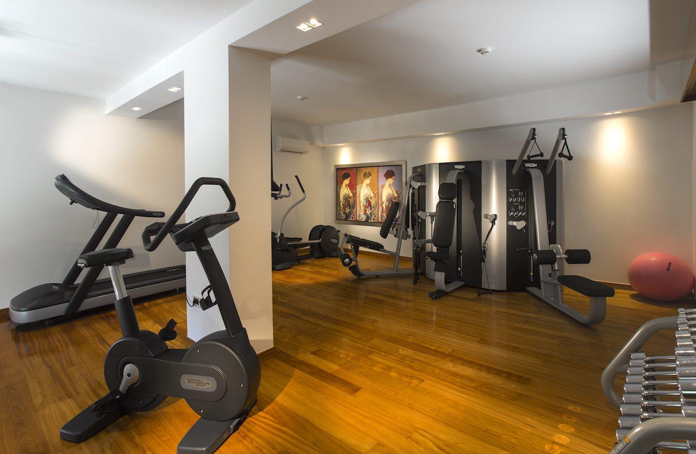 Best Hotel Gym Europe Technogym Greece Personal Training Zakynthos