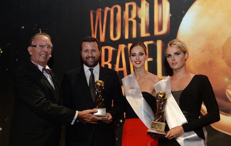 Το πολυτελες resort Porto Zante Villas & Spa ψηφιστηκε ως κορυφαιο στην Ευρωπη στα Παγκοσμια Βραβεια Τουρισμου 2015 (World Travel Awards).