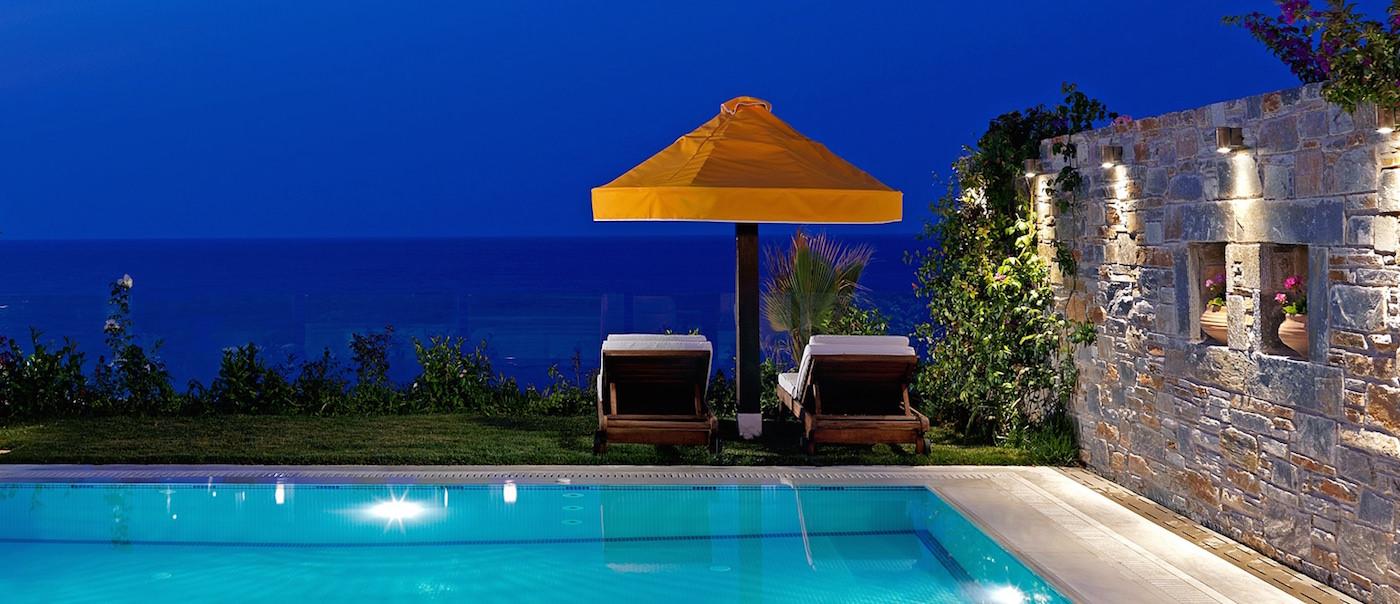 Private Pool Best Luxury Beachfront Villas Greece