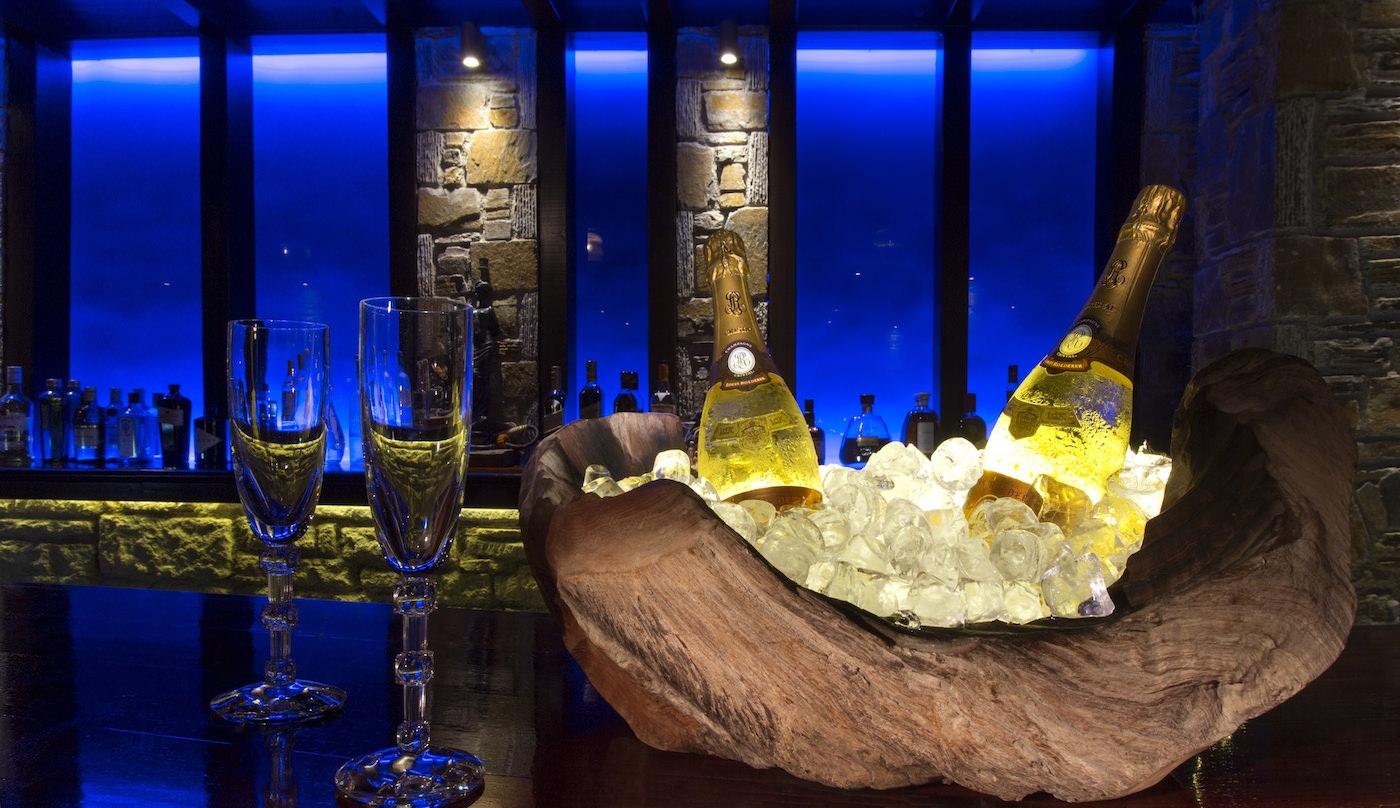 Porto Zante Greek Islands Luxury villas Restaurant Bar Champagne