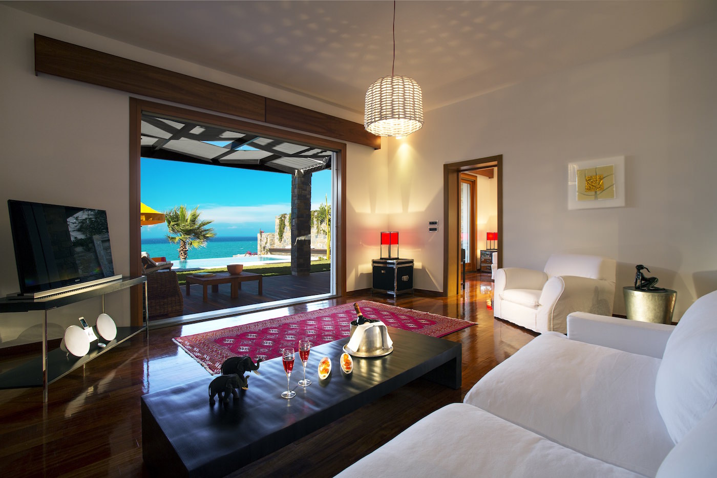 Porto Zante Greece Luxury Grand Presidential Spa Villas with private pool and private beach