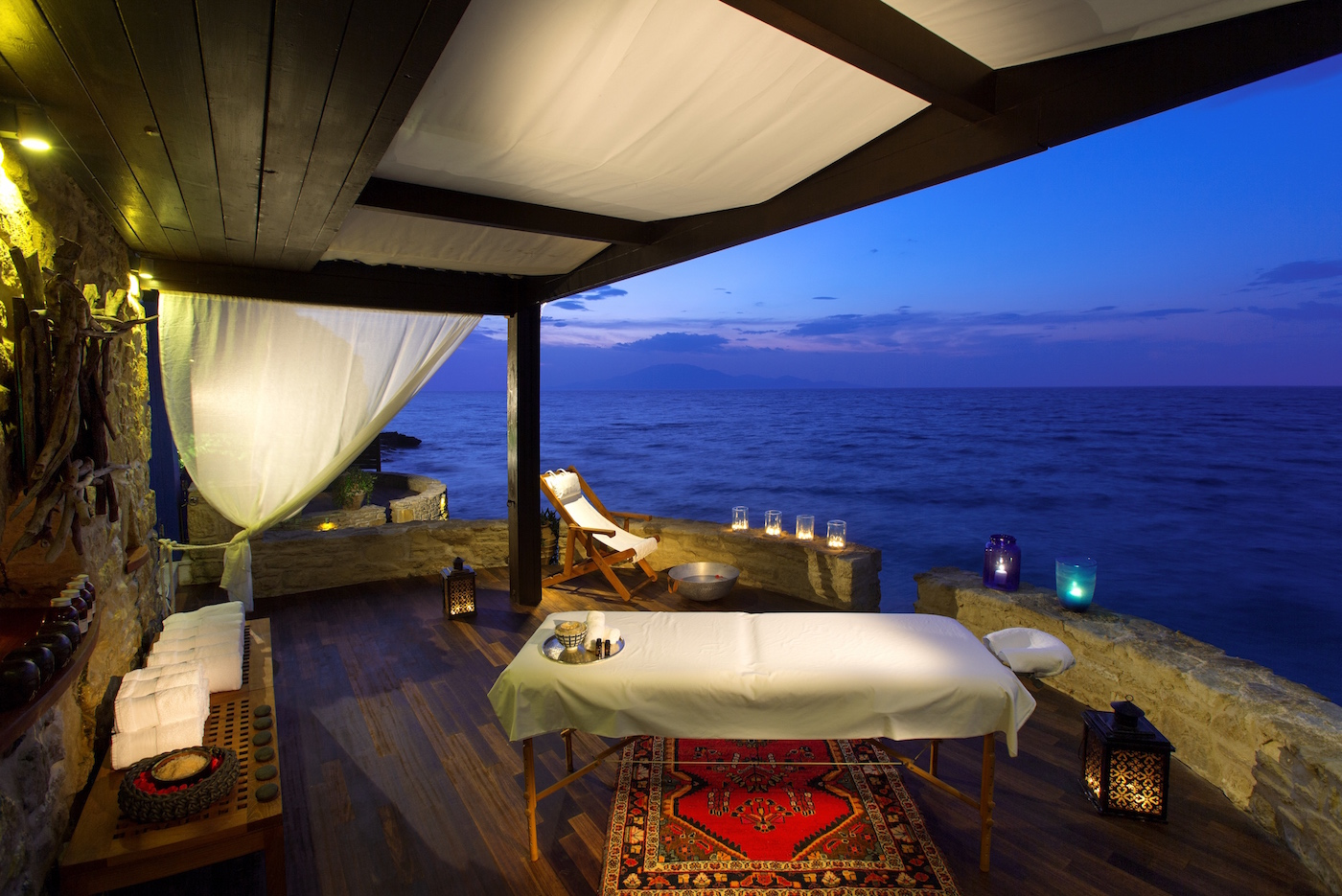 Porto Zante Greece Zakynthos Luxury Spa villas sunset view