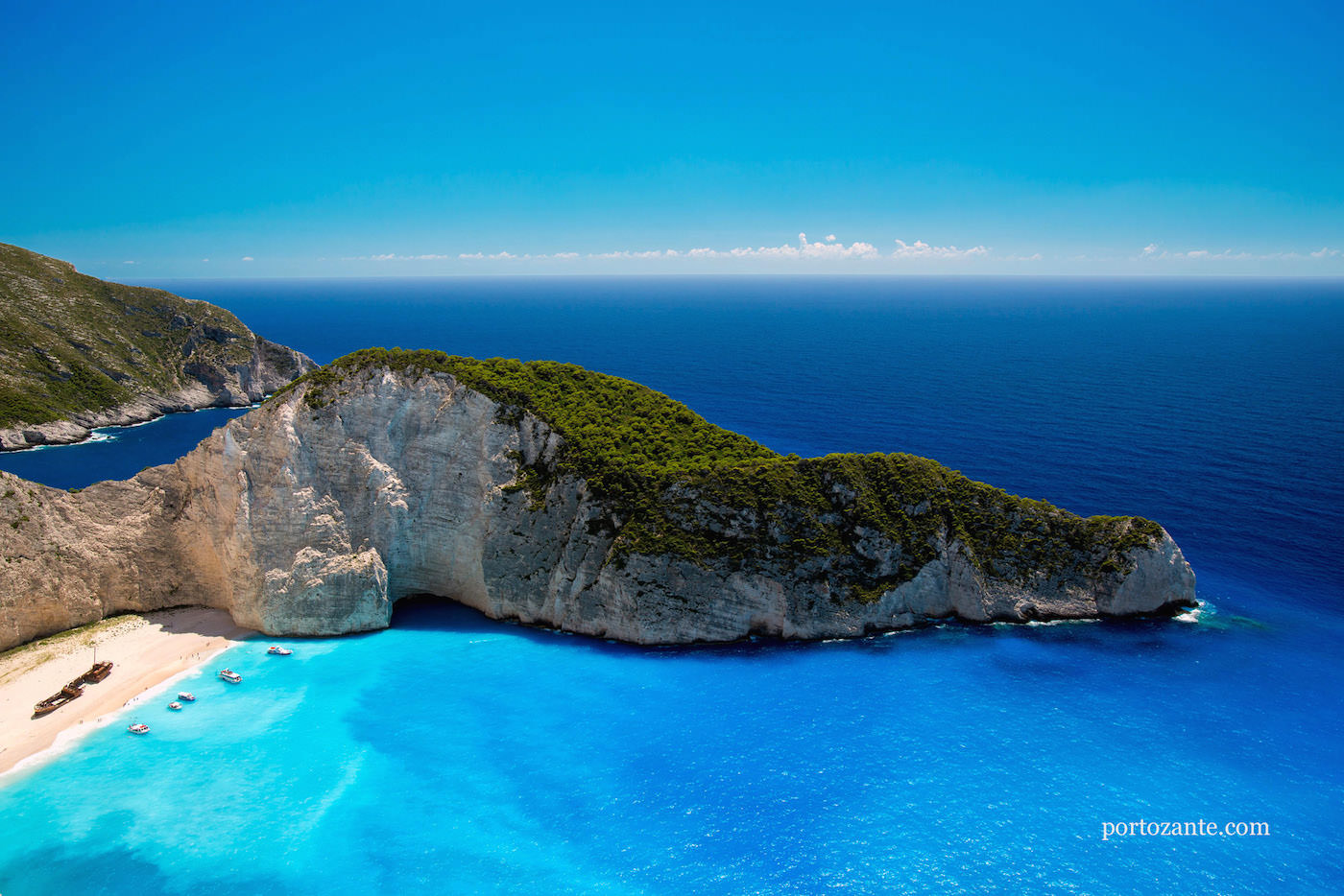 Porto Zante Greece Best Beach Resorts Shipwreck Zakynthos