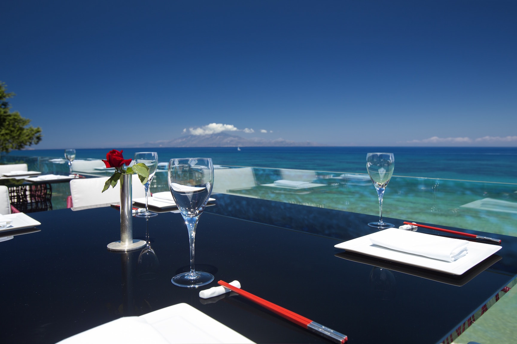Best Asian Restaurant Zakynthos Luxury Champagne Seafront
