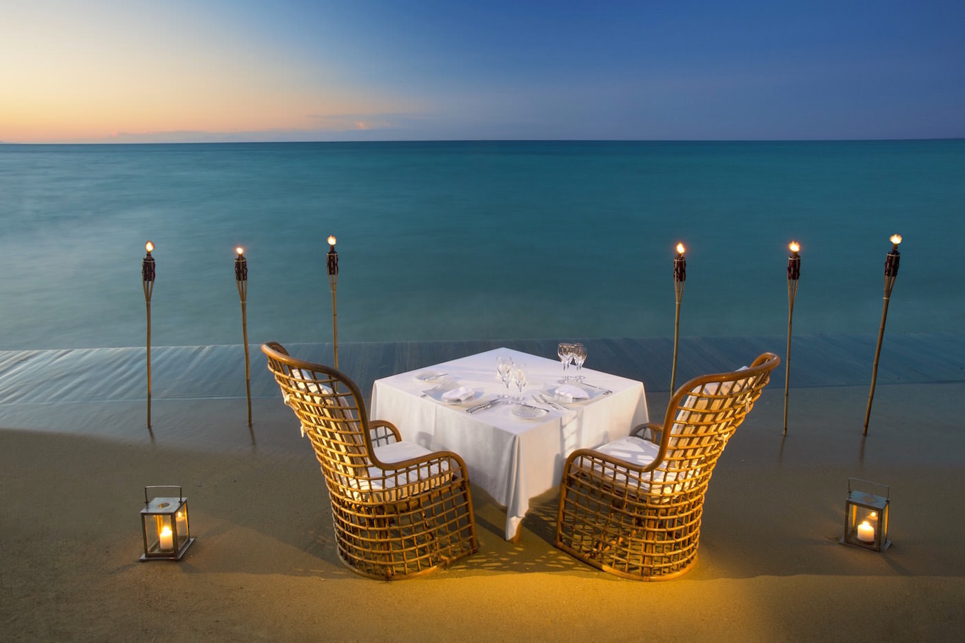 Best Private Dining On The Private Beach In Zakynthos Island