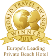 World Travel Awards - Europe's leading private beach hotel 2015