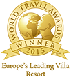 World Travel Awards - Europe's leading villa resort 2015
