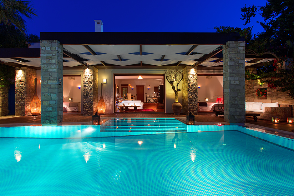 Luxury villas resort